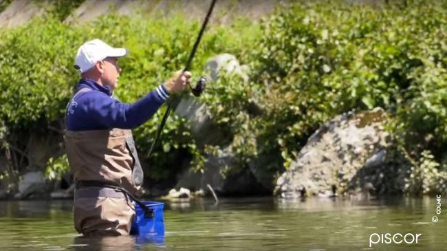 Pesca ai Cavedani con la Bolognese in Fiume 0