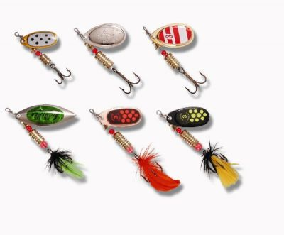 Zebco SPECIAL PRICE Spinner Assortment Pike - Perch