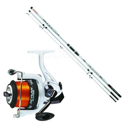 Trabucco Oceanic Pro Surfer 4.50 m - 80-250 + Deylan Long Cast 10000