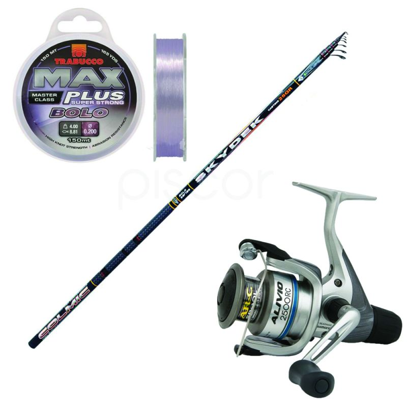 Colmic Skydek 150 - 6 m - 15 g + Complimentary Shimano Reel Hyperloop 1000 RB and a Max Plus Bolo Line 0.16 mm
