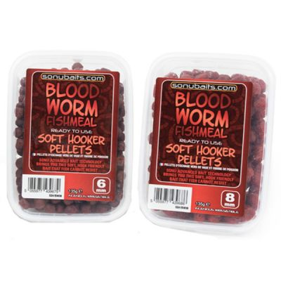 Sonubaits Soft Hooker Pellets Bloodworm Fishmeal