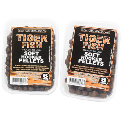 Sonubaits Soft Hooker Pellets Tiger Fish