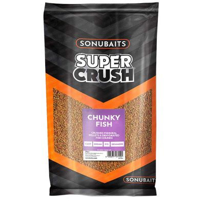 Sonubaits Super Crush Chunky Fish