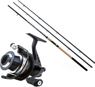 Lineaeffe Kit da Pesca Feeder Canna Ts impulse II 3.00 m 90 g + Mulinello Ts Feeder 3500