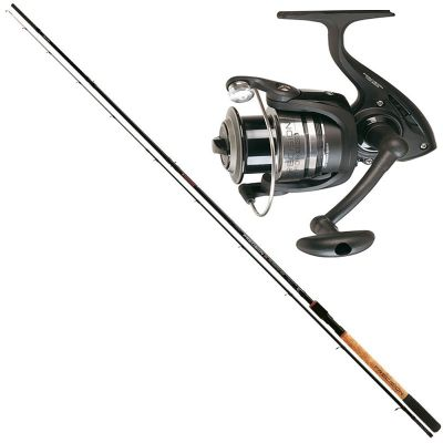 Trabucco Kit da Pesca Feeder Commercial Canna Precision XT Pro Commercial 3.30 m 70 g + Mulinello Precision FDR 4500