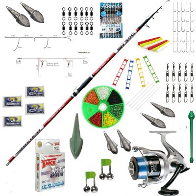 Contumax Kit Combo Surfcasting Top 1 Deluxe