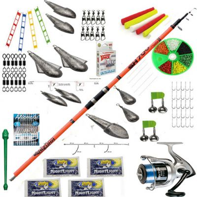 Contumax Kit Combo Surfcasting Top 4 Deluxe