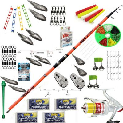 Contumax Kit Combo Surfcasting Top 5 Deluxe