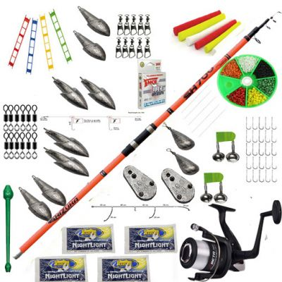 Contumax Kit Combo Surfcasting Top 6 Deluxe