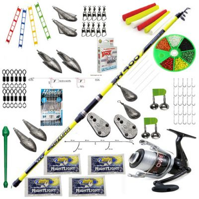 Contumax Kit Combo Surfcasting Top 7 Deluxe