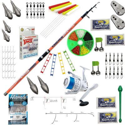 Contumax Kit Combo Surfcasting Top 8 Deluxe