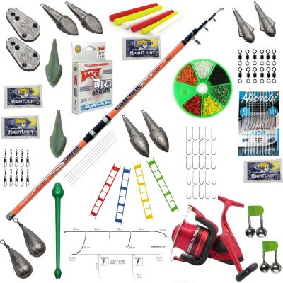 Contumax Kit Combo Surfcasting Top 9 Deluxe
