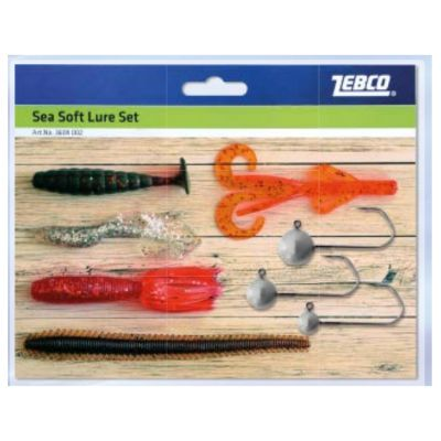 Zebco Sea Soft Lure Set