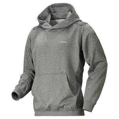 Shimano Lite Sweat Parka Tungsten