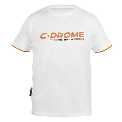Preston C Drome White T Shirt