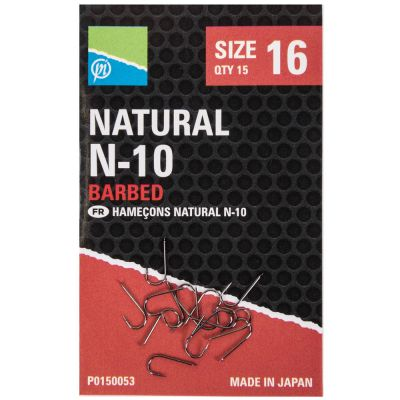 Preston Natural N 10 Hook