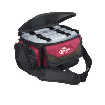 Berkley Bag 4 Boxes Red-Black
