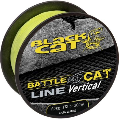 Black Cat Battle Cat Line Vertical