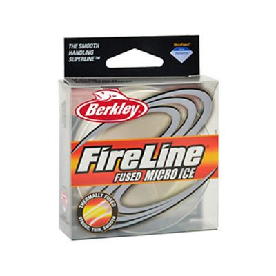 Berkley FireLine Micro Ice Smoke