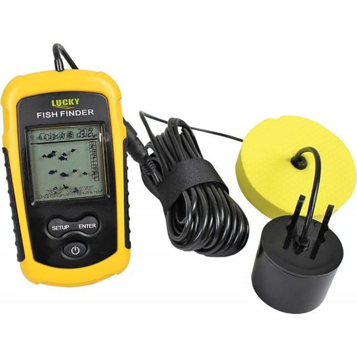 Rapture lucky fish finder cable piscor for Lucky fish finder