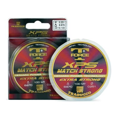 Trabucco SPECIAL PRICE Match Strong XPS T-Force   0.121 mm - 50 m