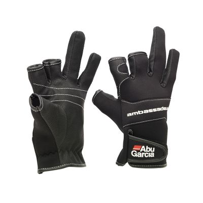 Abu Garcia Neoprene Gloves