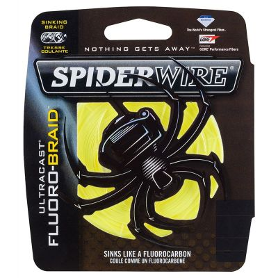 Spiderwire New Ultracast Fluorobraid Yellow
