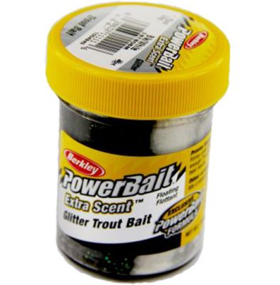 Berkley Pasta Trota Brillantinata PowerBait Black e White