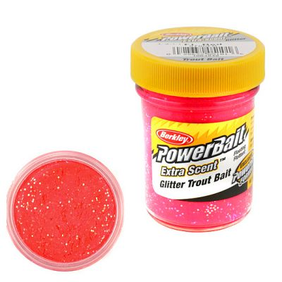 Berkley Pasta Trota Brillantinata PowerBait Fluo Red