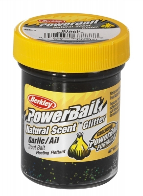 Berkley Pasta Trota PowerBait Natural Scent Garlic Black