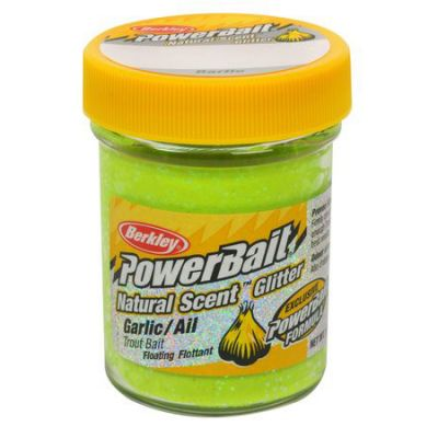 Berkley Pasta Trota PowerBait Natural Scent Garlic Chartreuse