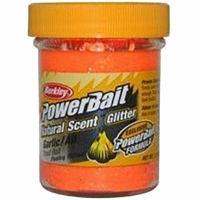 Berkley Pasta Trota PowerBait Natural Scent Garlic Fluo Orange