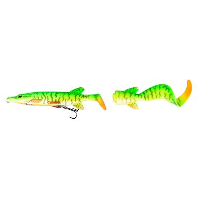 Savage Gear SPECIAL PRICE 3D Hybrid Pike Spare Tail Kit 25 cm - 04 - Firetiger