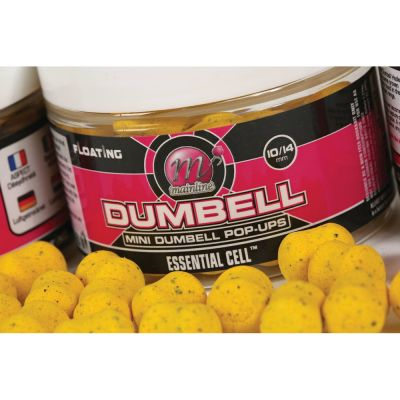 Mainline Pop-ups Dumbell 15 mm Essential Cell