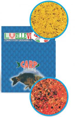 Ellevi Pastura Speciale Carpa alla Fragola Red Mix