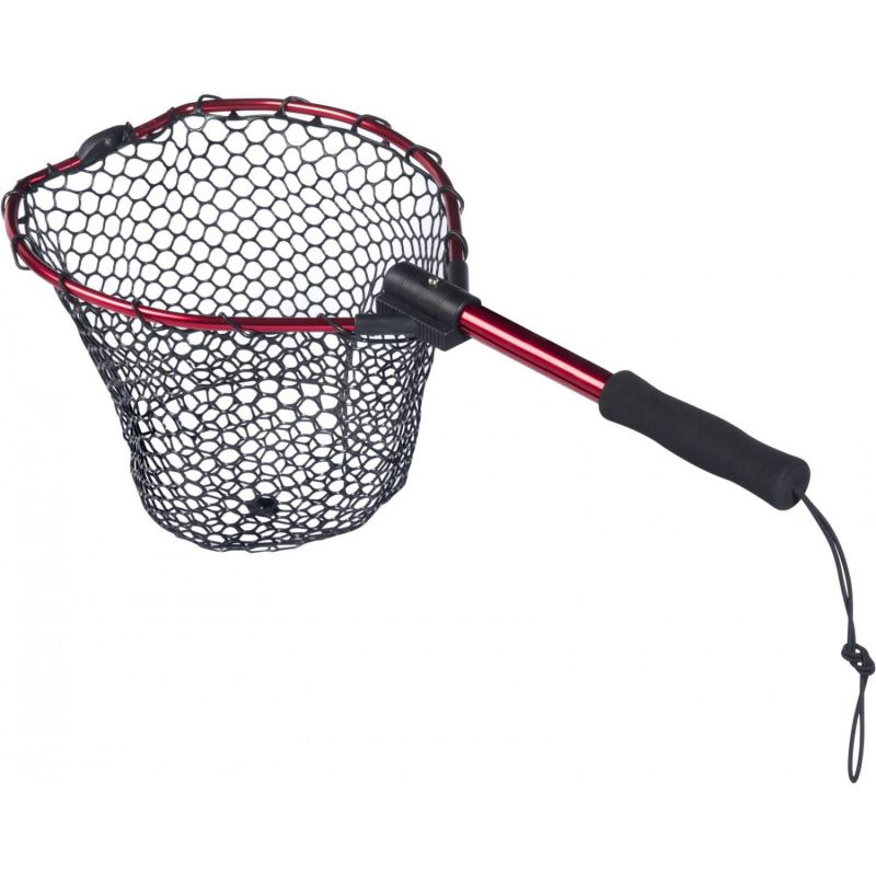 Berkley rubber landing nets folding kayak piscor for Rubber fishing nets