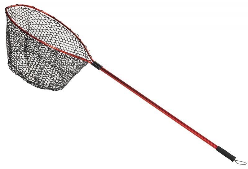 Berkley rubber landing nets retractable snapper piscor for Rubber fishing nets