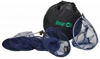 Sensas Keepnet + Landing Net + Net Bag Set