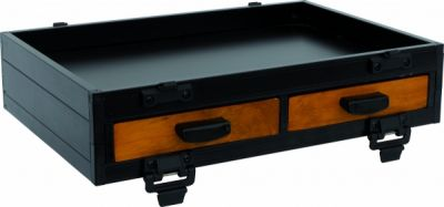 Sensas Seatbox Module - 2 Front Drawers Wood