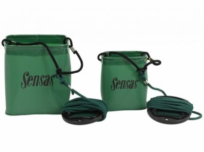 Sensas Waterproof Bucket + Rope