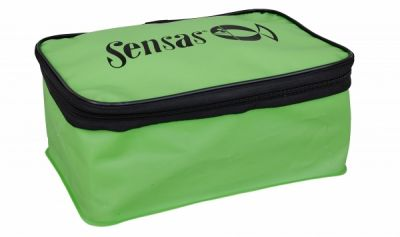 Sensas Waterproof Green Rect. Bowl With Lid