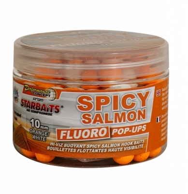 Starbaits Concept Fluo Pop Ups Salmon