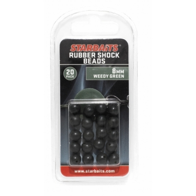 Starbaits Rubber Schock Beads 8mm