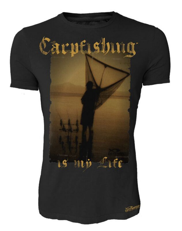 Hotspot Design T Shirt Carpfishing Is My Life Piscor