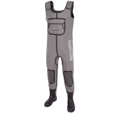 SPRO Waders Neoprene 4 mm con Stivale Gomma